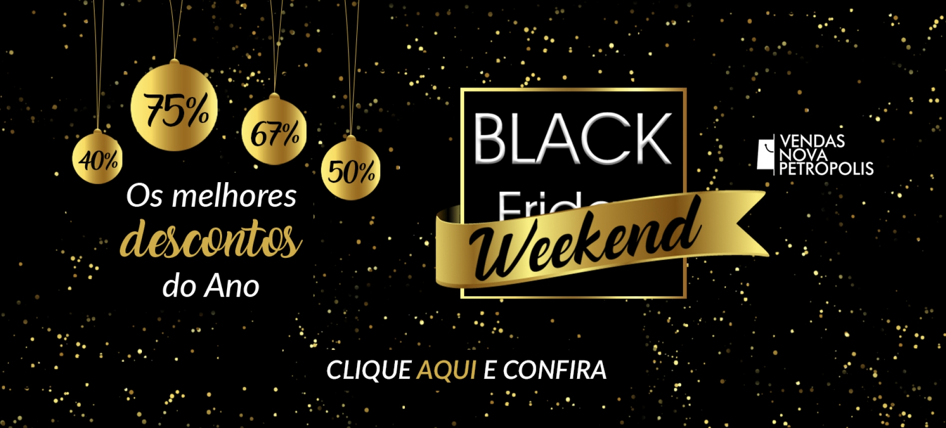 Slide-BLACK WEEKEND - melhores descontos do ano